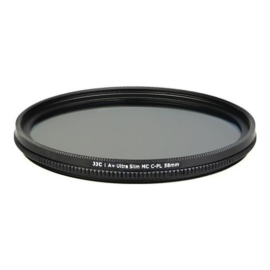 JJC 58mm CPL (Circular Polarize) A+ Ultra Slim Multi-Coated Filtre