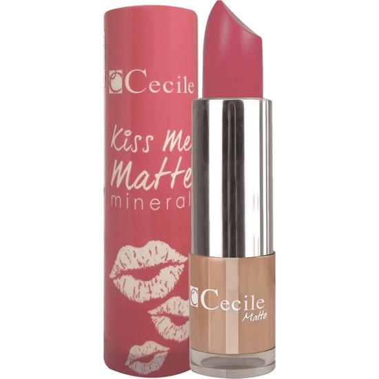 Cecile Mineralli Mat Ruj / Kiss Me Matte Mineral 302
