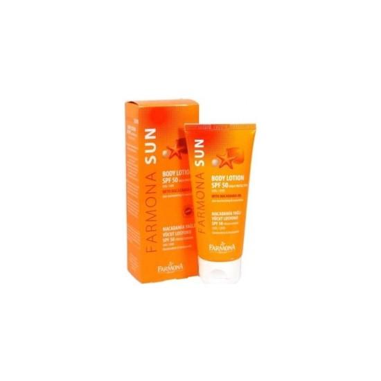 Farmona Sun Face Cream Spf50+ 50 ml - Macadamia Yağlı Yüz Güneş Kremi