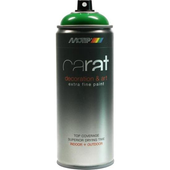 Motip Carat Parlak Yeşil Sprey Boya - 400 ml RAL6005
