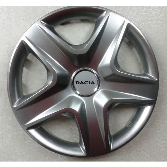 Dacia Duster Orjinal Model Çelik Jant Görünümlü 16 inch Kırılmaz - Esnek Jant Kapağı Takımı 4 Lü Set