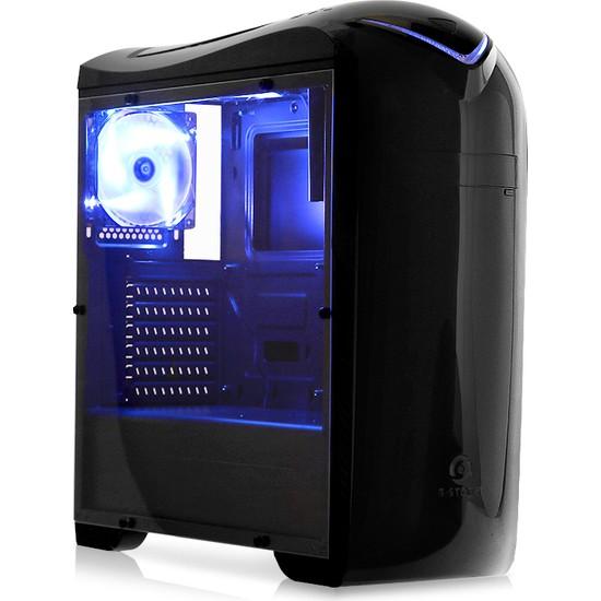 Dark G-Storm 3x Mavi Fanlı Usb 3.0 Full Akrilik Yan Panel ATX Oyuncu Kasası (DKCHGSTORM)