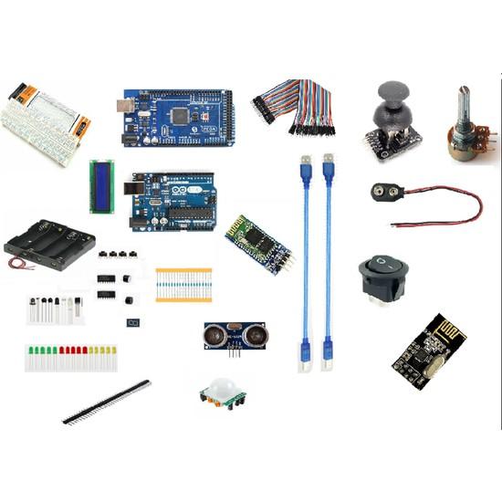 Elektro Market Arduino Uno & Mega Full Eğitim Seti - 37 Parça 309 Adet