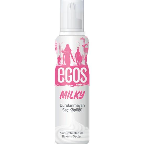 Egos Milkshake Durulanmayan Saç Köpüğü 125 ML