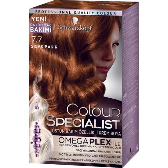 Colour Specialist Sıcak Bakır 7.7