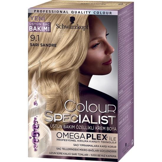 Colour Specialist Sarı Sandre 9.1