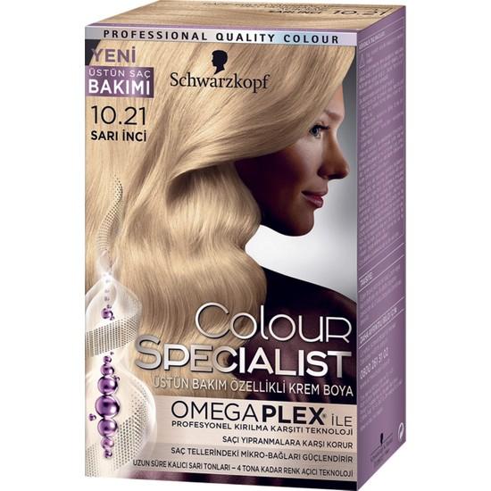 Colour Specialist Sarı İnci 10.21