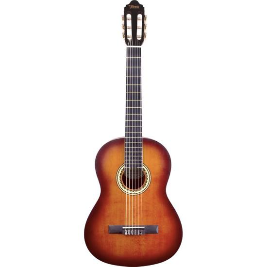 Valencia VC204CSB Sunburst Klasik Gitar (Kılıf Hediyeli)