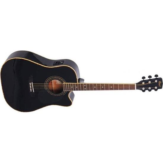 Cort Ad880Cebk Elektro Akustik Gitar Siyah Ladin Kapak