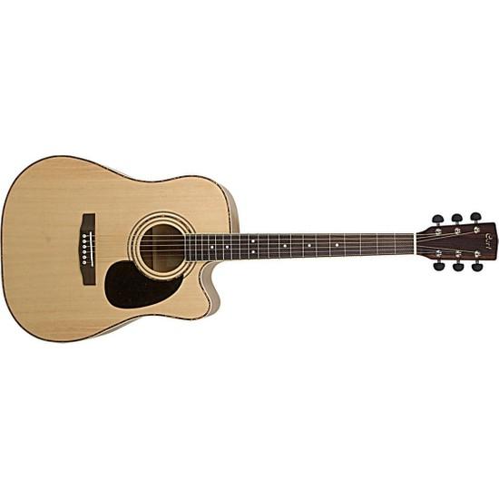 Cort Ad880Cenat Elektro Akustik Gitar (Kılıf Hediyeli)
