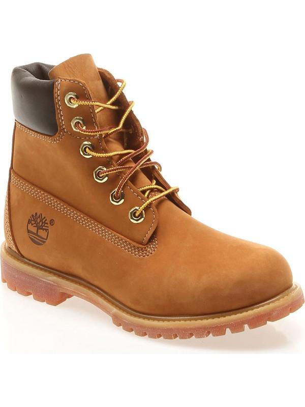 Timberland Sarı Kadın Botu 10361 6in Premium Boot W