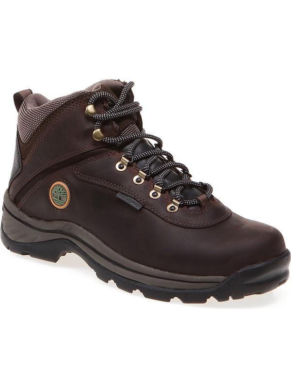 Timberland Kahverengi Erkek Trekking Bot Ve Ayakkabısı 12135 White Ledge Mid Wp