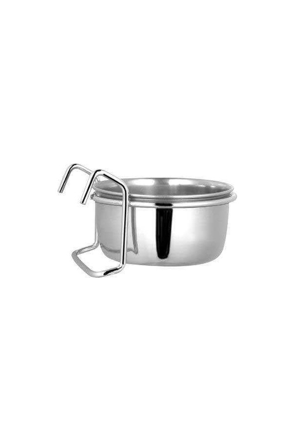 Ankur Steel Pets Water and Food Bowl with Hanger Cchcp30 30 Oz
