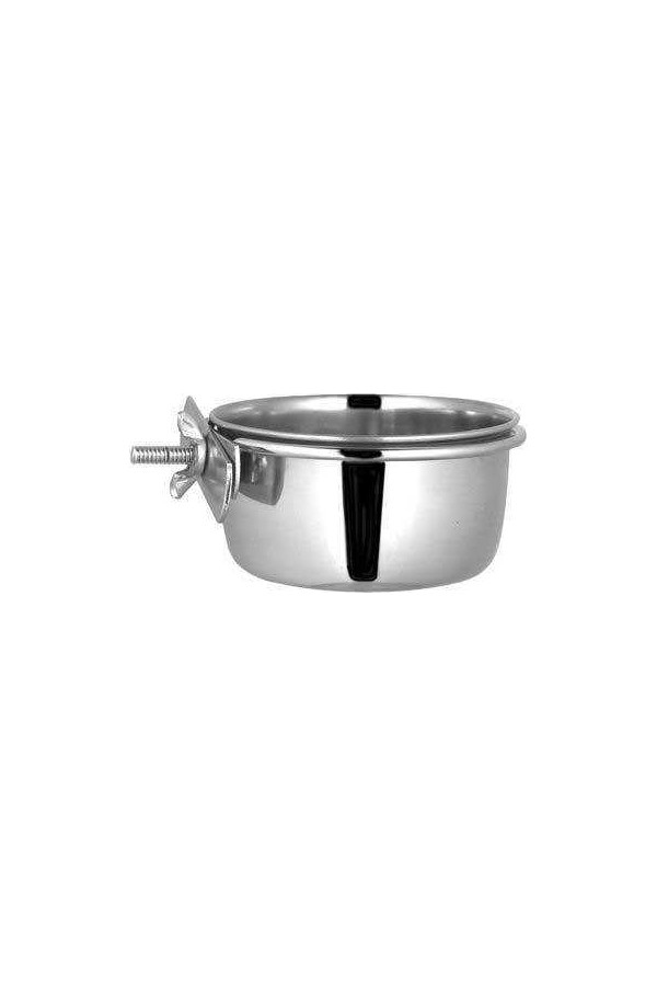 Ankur Parrot Steel Bowl with Screw Hanging Ccccp30 30 Oz
