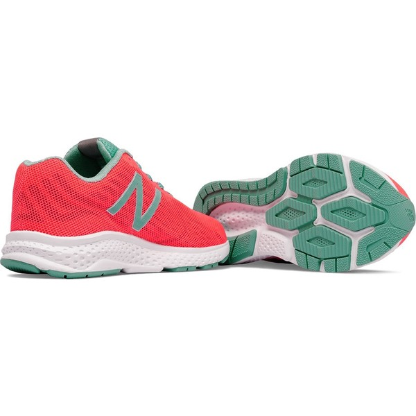 76155bedd3f63 New Balance KJRUSGPG Kadın Günlük Spor Ayakkabı - 38 - Turuncu - Yeşil Ürün  Resmi