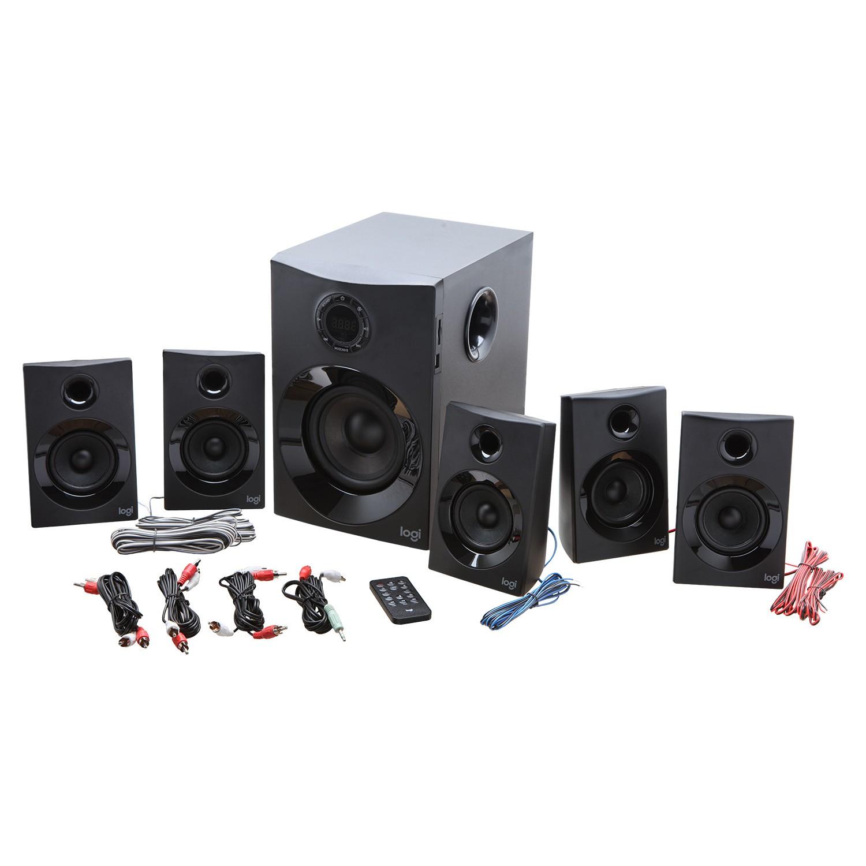Logitech Z607 160W Bluetooth Wireless 5+1 Surround Sound Fiyatı
