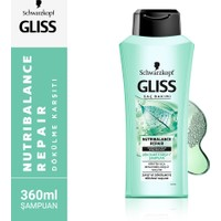 Schwarzkopf Gliss Nutribalance Şampuan 360 ML