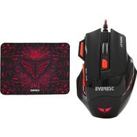Everest SGM-X7 Kablolu Oyuncu Mouse + Mouse Pad