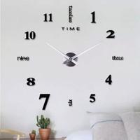 Yukka Yaratıcı Duvar Saati Modern Kendin Yap 3D Dijital Saat