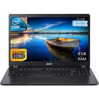 "Acer Extensa Intel Core i5 6300U 8GB 512GB SSD Freedos 15.6"" FHD Taşınabilir Bilgisayar NX.EFPEY.002"