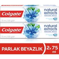 Colgate Diş Macunu Natural Extracts Deniz Yosunu Tuzu Parlak Beyazlık 75 ml x 4 Adet