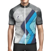 Freysport Retro Bisiklet Forması Kısa Kol - Mavi
