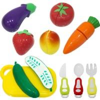 Birlik Oyuncak 16 Parça Oyuncak Meyve Sebze Kesme Seti