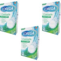 Corega Bio Diş Temizleme 30 Tablet 3 Adet
