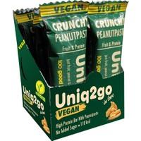 UNIQ2GO In Love - Fıstık Ezmeli Pirinç Proteinli Vegan Bar 12'lı Kutu