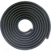 Spelt Kablo Kordon Koruyucu Spiral Sarma Kılıf Koruma Siyah