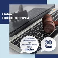 Online Hukuk Ingilizcesi Eğitimi - Canlı Bire Bir Özel Ders -30 Saat