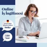 Online Iş Ingilizcesi Eğitimi - Canlı Bire Bir Özel Ders -180 Saat