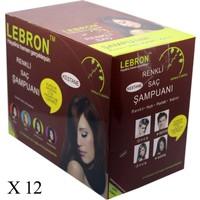 Lebron Renklendirici Saç Şampuanı 8.0 Kestane Açık Kumral 360 x 25 - Koli