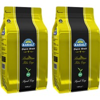 Karali Çay Karali Premium Filiz Dökme Çay 1 kg x 2 Adet
