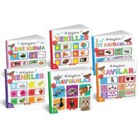 Diy-Toy İlk Kitaplarım Serisi Eğitici 6Lı Set