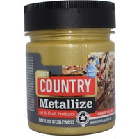 Craft Country Metallize Hobi Boyası 120 cc 5201 Altın