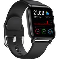 C4U F3 Akıllı Saat - IP68 - Siyah - (Android ve iPhone Uyumlu)