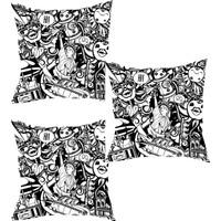 Elele Home Dekoratif Yastık Kırlent Kılıfı-YS181247184-3-SET