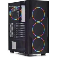 Dark Diamond PRO Mesh 4x12cm FRGB Fan, Full Akrilik Yan Panel, USB 3.0 Bilgisayar Kasası (DKCHDIAMONDPROMS))