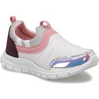 I Cool Selly Beyaz Kız Çocuk Slip On Ayakkabı