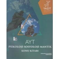 Yazıt Yayınları Ayt Psikoloji - Sosyoloji - Mantık Konu Kitabı - Çağlayan Ulaş Küpeli,