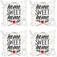 Elele Home Dekoratif Yastık Kırlent Kılıfı-YS225263-4-SET