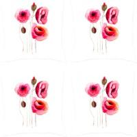 Elele Home Dekoratif Yastık Kırlent Kılıfı-YS1375311-4-SET