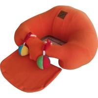 Bebe Yatmaz Çıngıraklı Turuncu Bebeyatmaz Bebek Oturma Destek Minderi Bebek Koltuğu