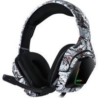 Onikuma K20 3.5 mm Kablolu Gaming Headset Surround Ses Kulaklık (Yurt Dışından)