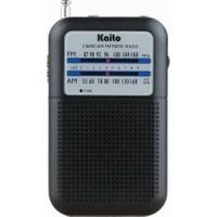 Kaito KA200 Cep Am/fm Radyo, Siyah