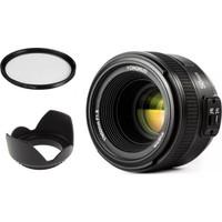 Yongnuo 50 mm F1.8 Nikon Uyumlu Lens Seti II