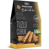 Mayalı Hane Düşük Proteinli ve Glutensiz Tuzlu Çubuk 150 gr