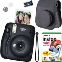 Fujifilm Instax Mini 11 Siyah Fotoğraf Makinesi Seti 4