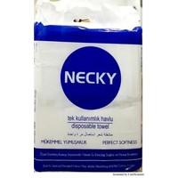 Necky Tek Kullanımlık Havlu Tekli Paket 100'lü 70 cm x 40 cm